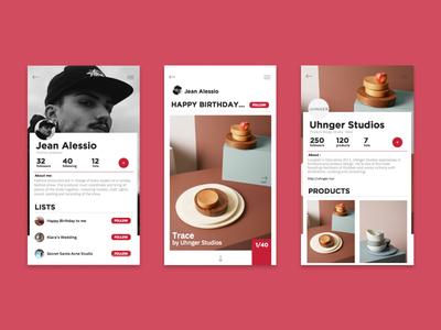 Give2me ux ui design app