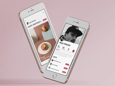 Give2me ux ui app design