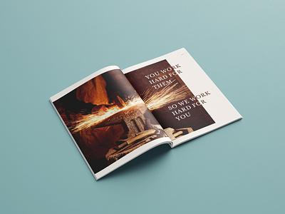 Stubben Brand Book: Seventh Spread layout design layout publication design publication editorial design editorial brand book identity brand branding brand identity book design book illustrator illustration graphic design design