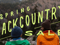 Backcountry Typography