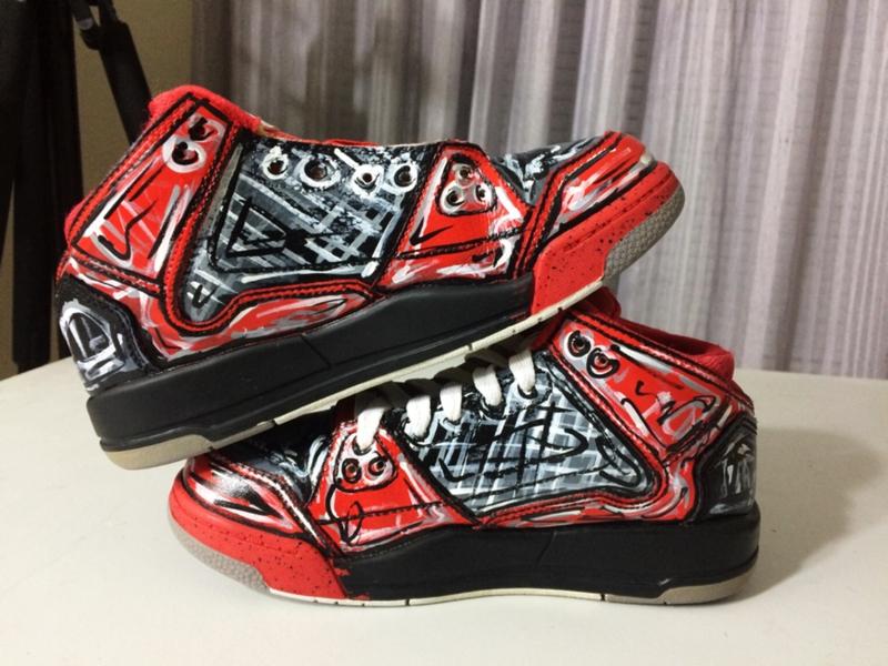 Nike Air Jordan Flight Origins | Sneaker Custom by Gigi