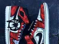 Into the Spiderverse AF1s Sneaker Custom