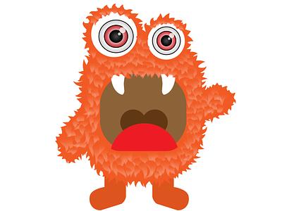 """""""Furry Monster"""" Illustration monster animal furry vector design business branding brand art 3d character development character creature illustration"""