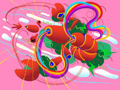 lobster design illustration