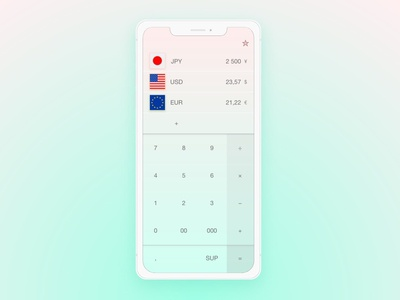 Daily Ui - #4 - Calculator