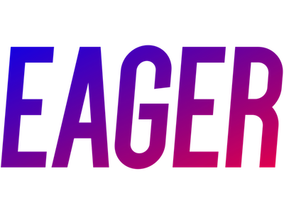 Eager logo square small
