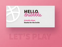 Hello dribbble, 1st shot