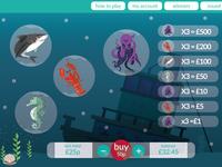 Bingo underwater theme