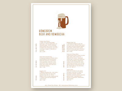 Homebrew vector branding logo design icon illustration graphic design