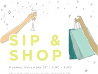 November Sip & Shop