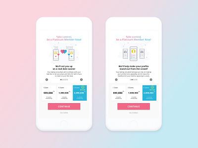 Premium dating pop-up phone application plan price premium mobile pop-up dating date