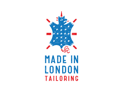 made in london bdsm rock punk unicorn london tailoring horse funny branding illustration vector design brand logo