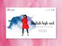 Miracas - ecommerce visual design