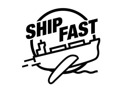 Ship Fast t-shirt art tshirt ship fast fast ship illustration