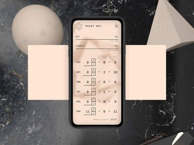 #DailyUI - 004: Calculator website pwa mobile app dailyui mobile typography cinema 4d c4d ui