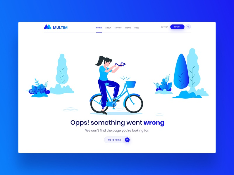 404: Agency Error Page Illustration colorful vector gradient not exist digital agency something wrong lost cycle clean web design website ui ux art 404 page illustration not found page not found error error page 404