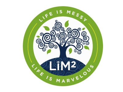 Final Logo for Life is Messy, Life is Marvelous: LiM Squared