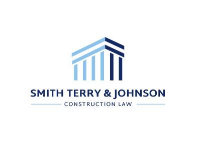 Logo for Smith, Terry & Johnson attorney logo logo law construction