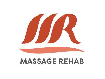 Massage Rehab Logo massage logo massage therapist logo