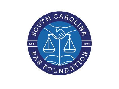 South Carolina Bar Foundation Logo logo foundation bar carolina south