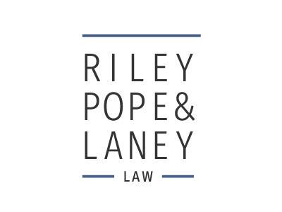 Riley Pope & Laney Law Logo logo firm law