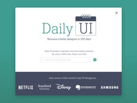 Day 100 - Redesign Landing Page