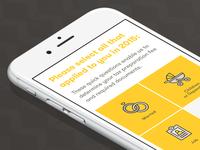 TaxChat iOS App — Intake Screen