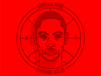 Derrick Rose Badge