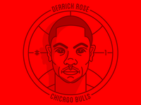 Derrick Rose Badge 2