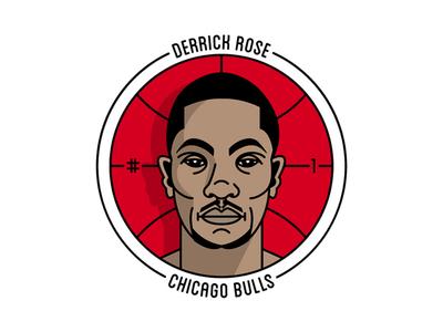 Derrick Rose Badge Final