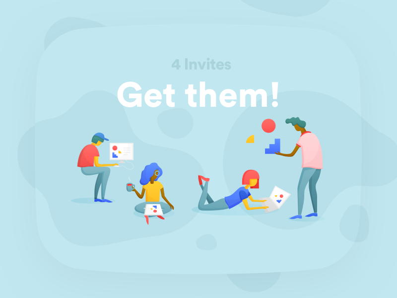 Invites illustration