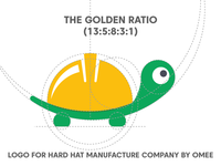 THE GOLDEN RATIO LOGO
