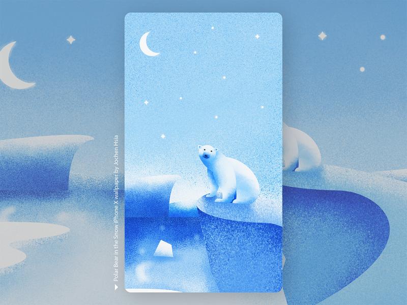 Polar Bear Wallpaper by Jochen Hsia on