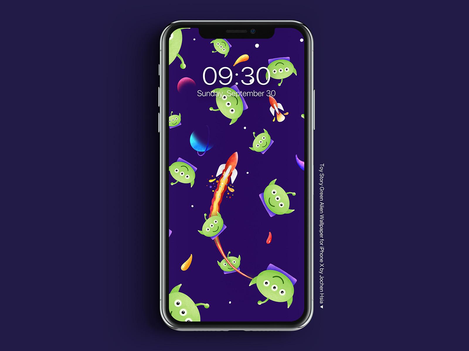 Green Alien Wallpaper By Jochen Hsia On Dribbble
