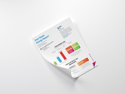 Home Energy Report Mock Up