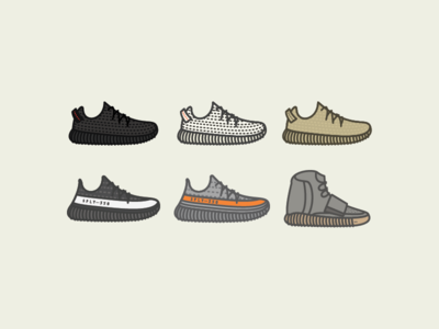 Yeezy Icon Set