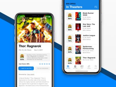 Movie App Concept 🍿