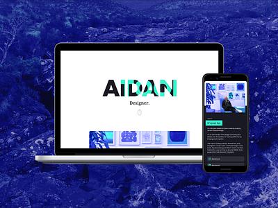 New Portfolio branding interface design web design webflow portfolio