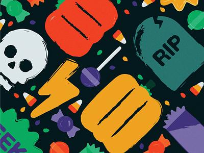 Halloween Fest illustration illustrator halloween paint design flyer