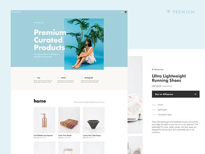 Thieve Premium web design ui photography product aliexpress premium