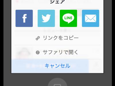 Customized share