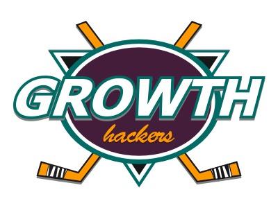 Logo concept for a Growth agency hockey growth logo