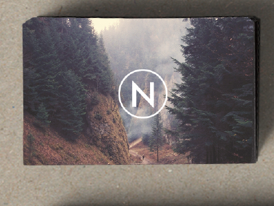 Ngenic business card concept