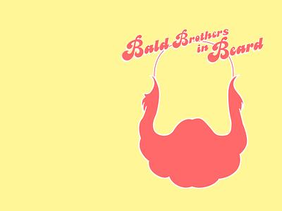 Bald brothers in beard beard