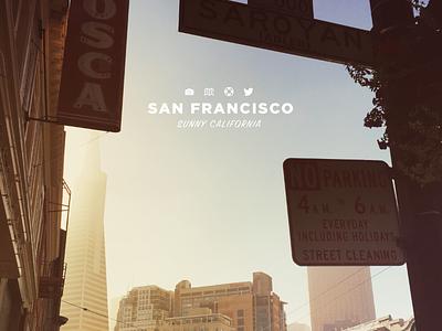 San Francisco poster san francisco photo