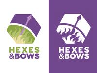 Hexes & Bows Logo