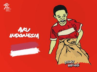 Aku Indonesia : Balap Karung