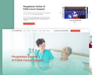 FUDA Hospital (Revamp) - Web Development & UI/UX