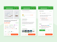 Product Detail Ecommerce - Mobile App Design Inspiration