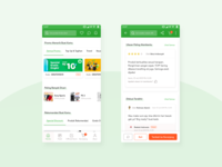 Promo & Review Card Ecommerce - Mobile App Design Inspiration
